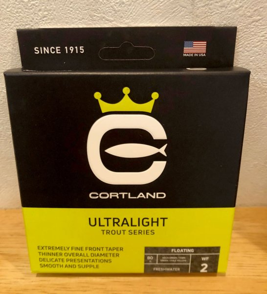 画像1: Cortland Trout ULTRALIGHT Line (1)